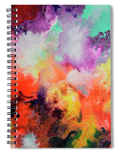 Continuity, Canvas Two Spiral Notebook