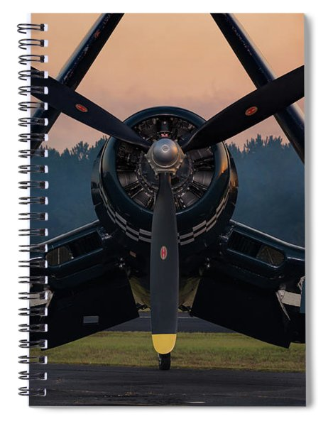 Corsair At Dusk Spiral Notebook