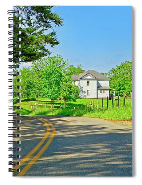 Country Roads Of America, Smith Mountain Lake, Va. Spiral Notebook