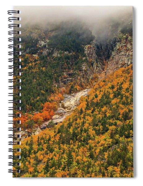 Crawford Notch Fall Foliage Spiral Notebook
