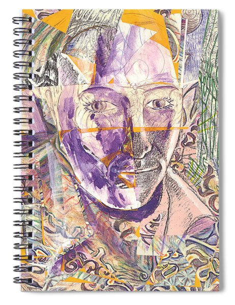 Cut Portrait Spiral Notebook