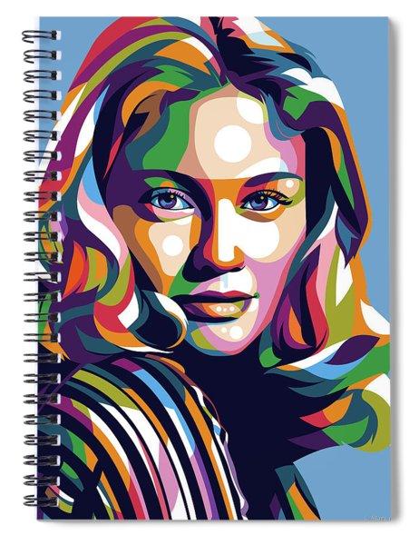 Cybill Shepherd Spiral Notebook