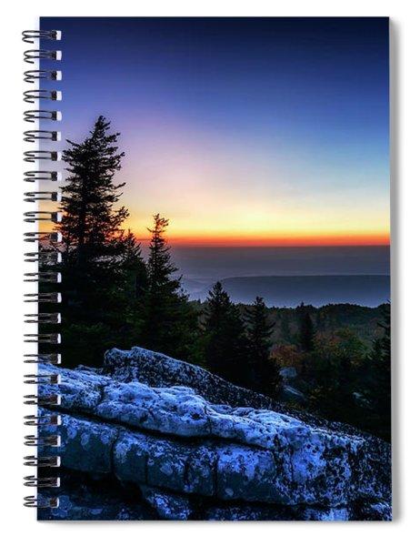 Dawn At Bear Rocks Preserve Spiral Notebook