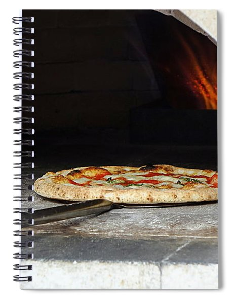 Delicious Pizza In The Oven Spiral Notebook
