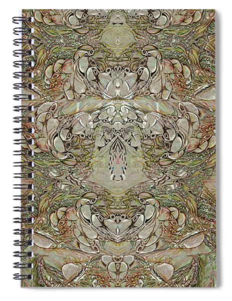 Desert Wall Spiral Notebook