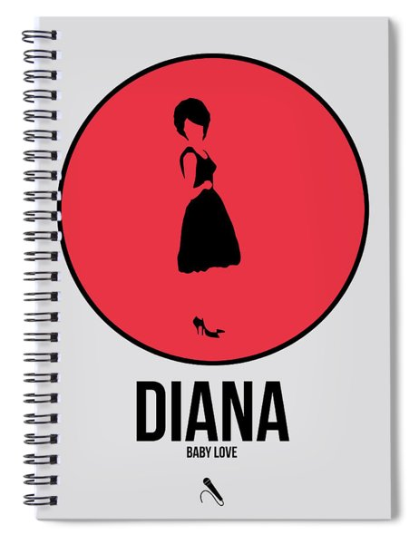 Diana Ross Spiral Notebook