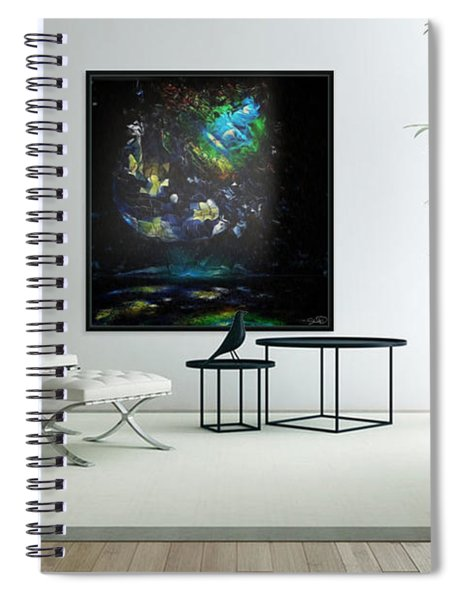 Disco-blown  Spiral Notebook