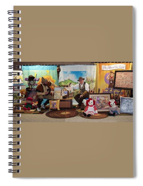 Doctor Jay And The Guardians Of Time Spiral Notebook