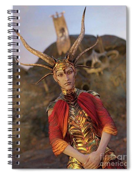 Dragon Empress Spiral Notebook