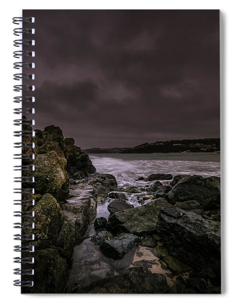 Dramatic Mood Spiral Notebook