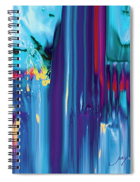 Drenched Spiral Notebook
