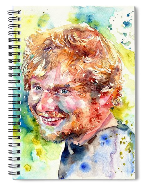 Ed Sheeran Spiral Notebook