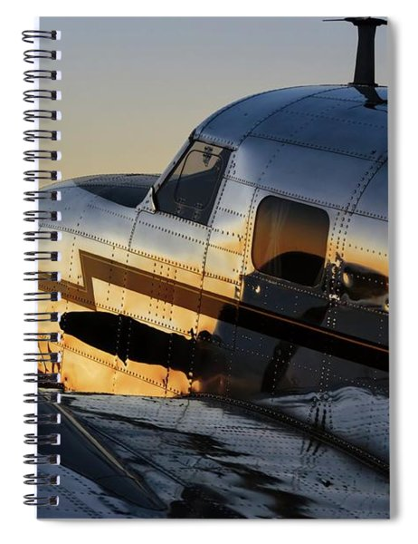 Electra Sunset Spiral Notebook