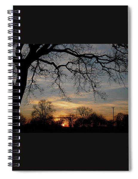 Evening Fades Away Spiral Notebook