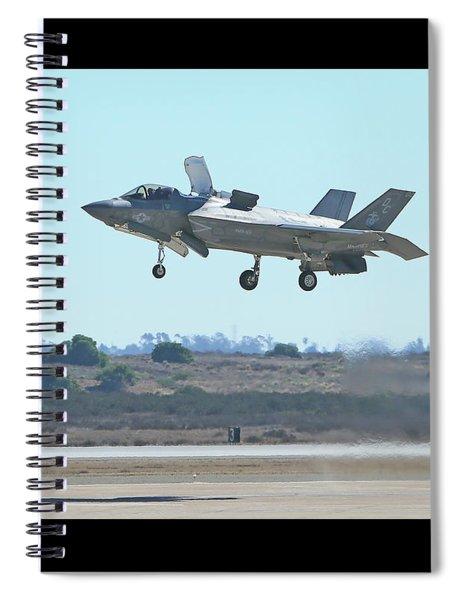 F-35b Lightning II #9 Spiral Notebook
