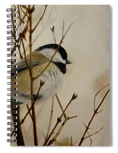 Faithful Winter Friend Spiral Notebook