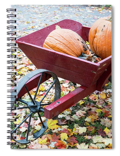 Fall Display Spiral Notebook