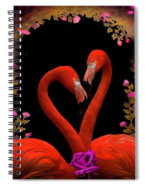 Falling In Love Spiral Notebook