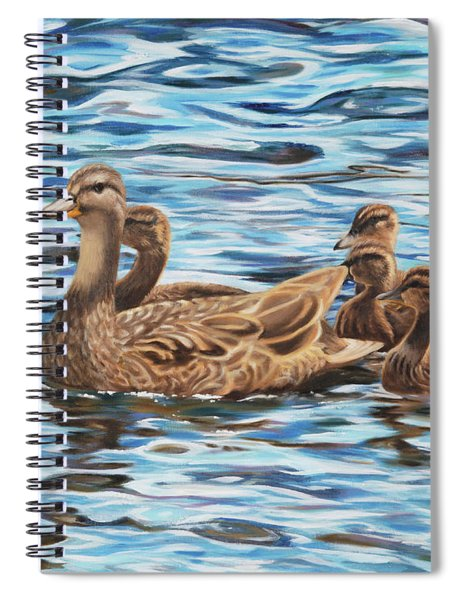 Mallards Spiral Notebook