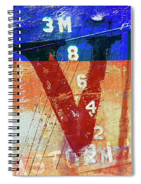 Fishing Vessel Vivian Astoria Oregon Spiral Notebook