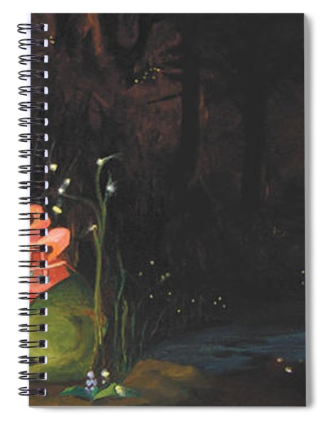Frogs Of Silver Lake Spiral Notebook