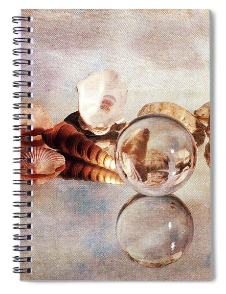 Gems From The Beach Spiral Notebook
