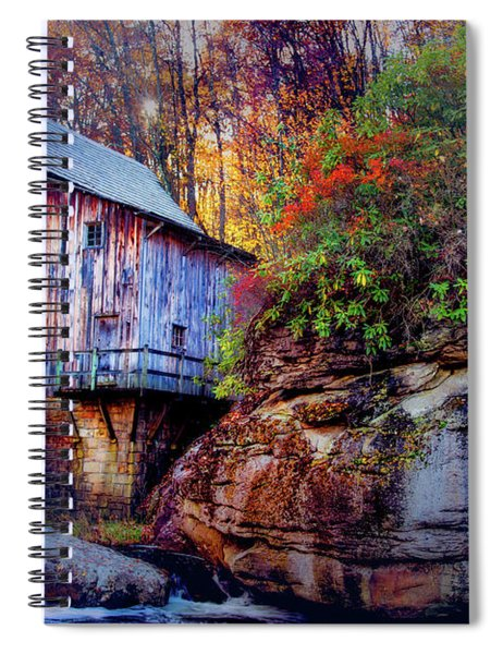 Glade Creek Grist Mill Spiral Notebook
