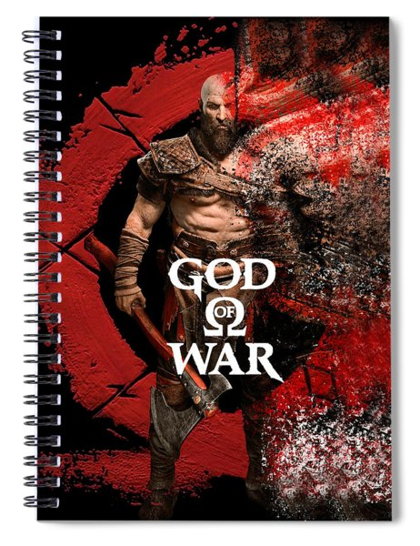 God Of War Spiral Notebook