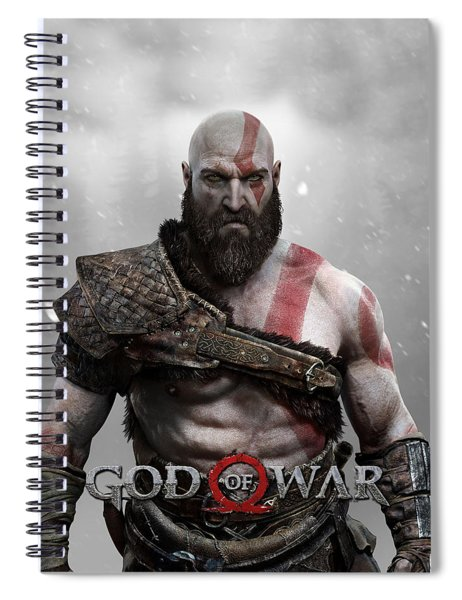 God Of War Kratos Spiral Notebook