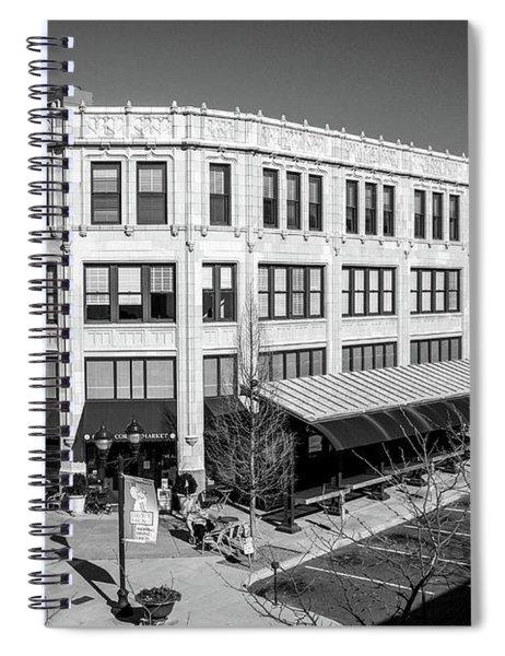 Grove 2 Bw Spiral Notebook