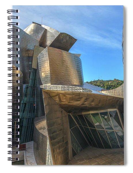 Guggenheim Museum - Bilbao, Spain Spiral Notebook