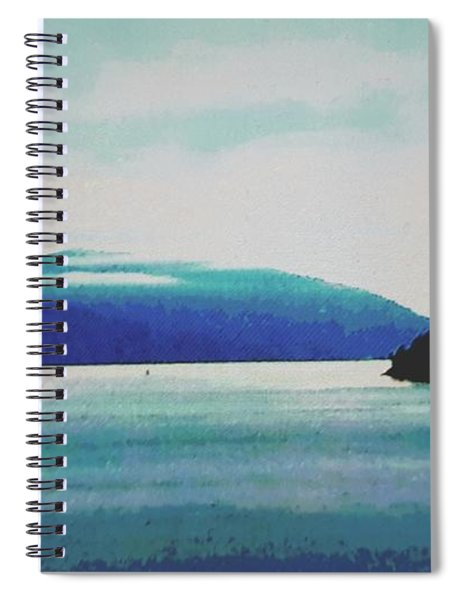 Gulf Islands Spiral Notebook