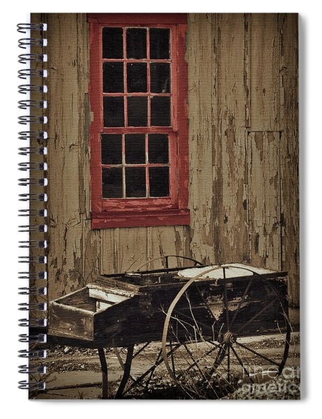 Hay Cart Spiral Notebook