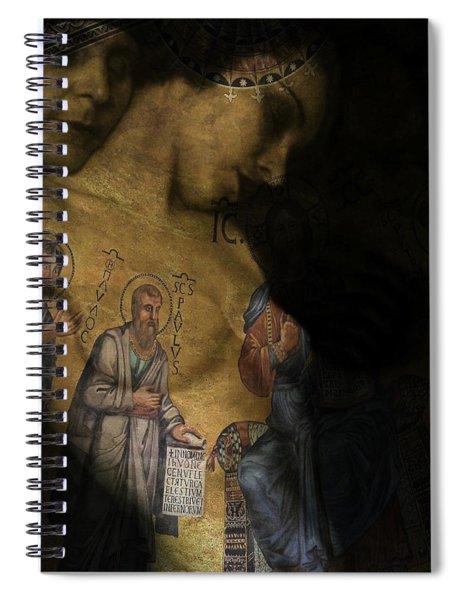 Help Me Make It Through The Night  Spiral Notebook