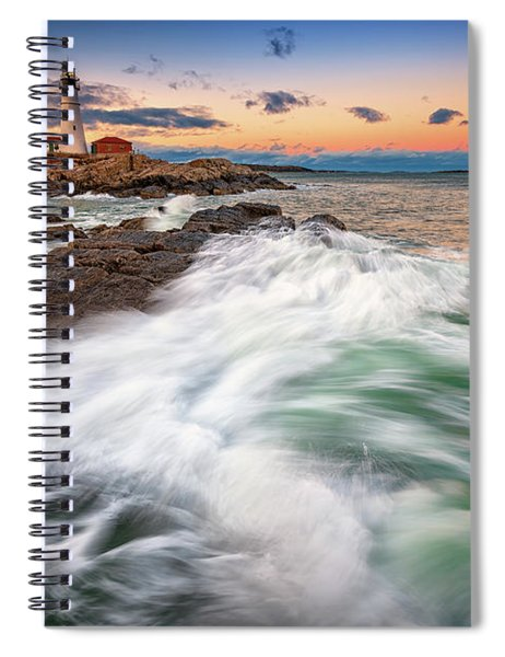 High Tide At Dusk Spiral Notebook
