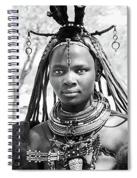 Himba Girl Spiral Notebook