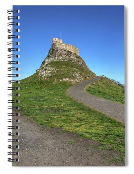 Holy Island Of Lindisfarne - England Spiral Notebook