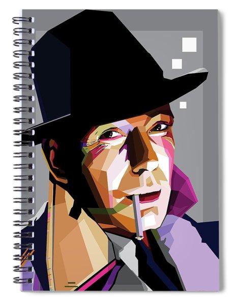 Humphrey Bogart Spiral Notebook