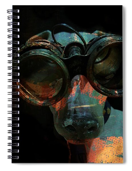 I Can See For Miles  Spiral Notebook