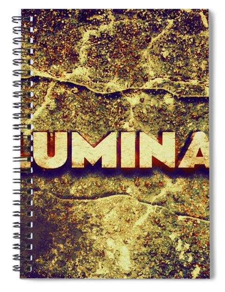 Illuminati Spiral Notebook