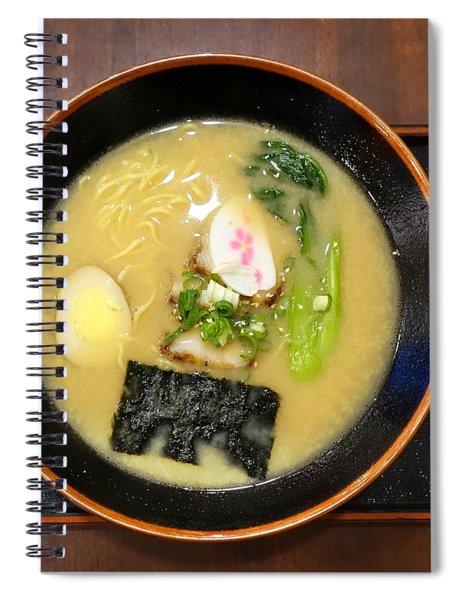 Japanese Miso Noodle Soup Spiral Notebook