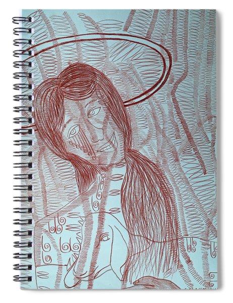 Jesus Christ The Good Shepherd Spiral Notebook