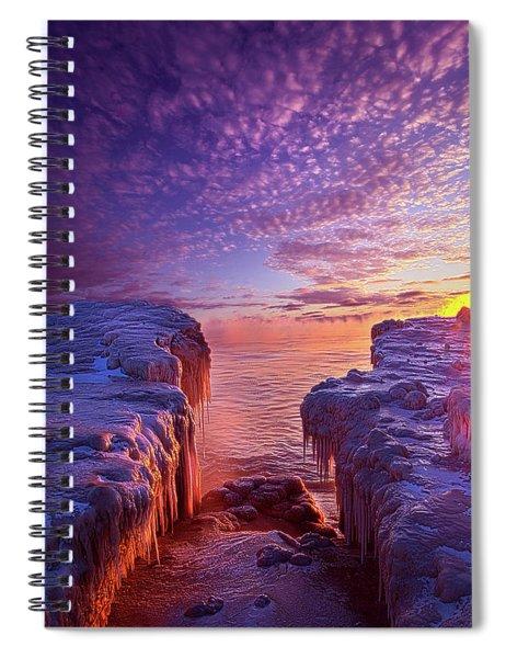 Journey's End Spiral Notebook