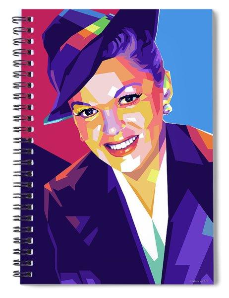 Judy Garland Spiral Notebook