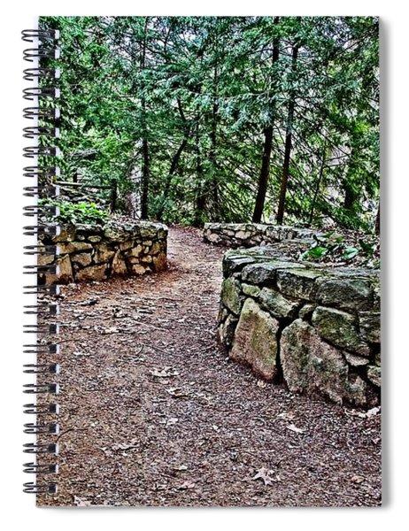 Just Around The Bend Spiral Notebook