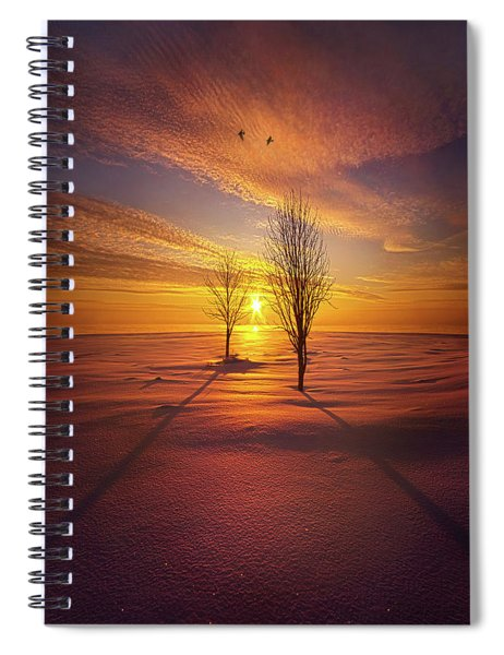 Just You And I Spiral Notebook