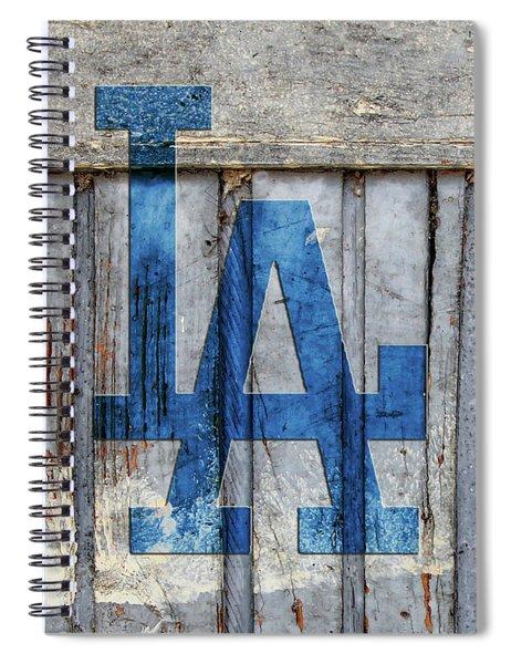 La Dodgers Spiral Notebook