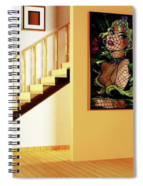 Lady Elegance Spiral Notebook