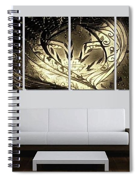 Lady Featured Spiral Notebook