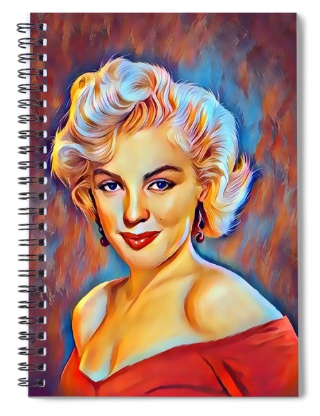 Lady  Monroe  Spiral Notebook